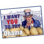 Pootgoed Obama kopen